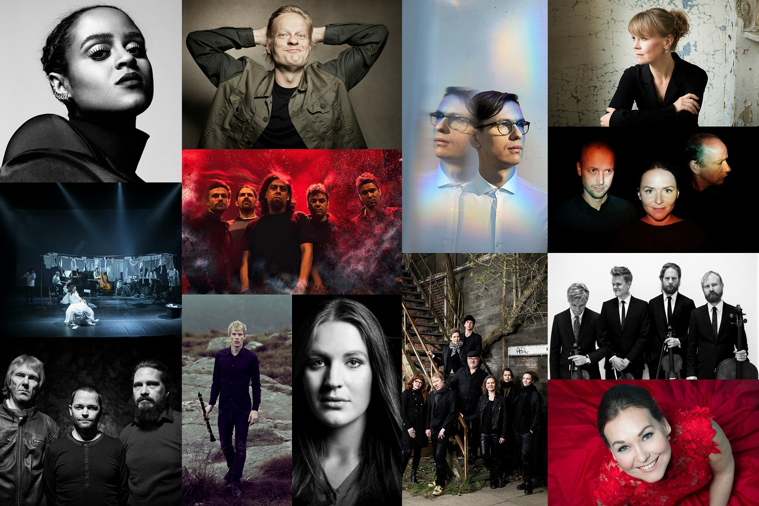 The nominees for the  Nordic Council Music Prize 2017 are...